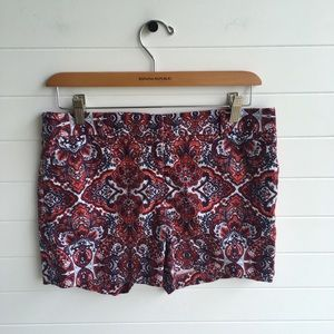 [Saint Tropez West] Paisley Cute Shorts Americana